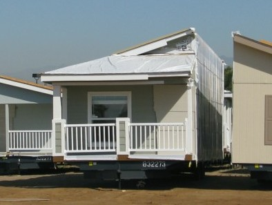 Section Of A Manufactured Home (Double Wide Trailer)