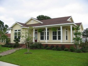 New Orleans Style Modular Home by Drew Developers